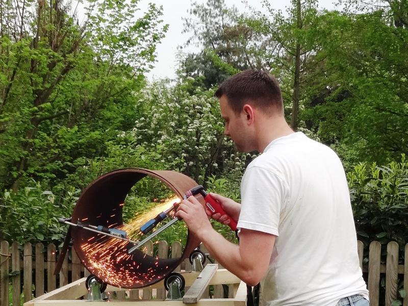 projekt smoker-bau (stand 31.05.2014) | pulled-pork.de, Gartenarbeit ideen